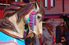 Free Merry Go Around Carousel Royalty Free Stock Photos - 20573108