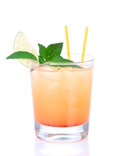 Free Alcohol Tequila Sunrise Cocktail Stock Images - 20573634