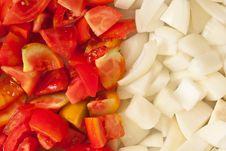 Free Tomato And Onion Stock Image - 20573691