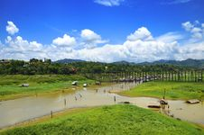 Free River Songaria In Thailand Royalty Free Stock Image - 20573936