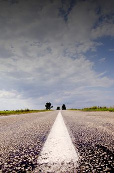 Free Countryside Road And Sky Stock Photo - 20573960