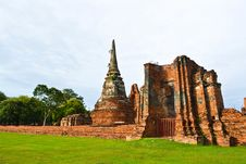 Free Historic Site Of Thailand Royalty Free Stock Photos - 20574288