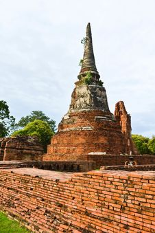 Free Historic Site Of Thailand Royalty Free Stock Photography - 20574297