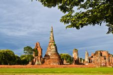 Free Historic Site Of Thailand Royalty Free Stock Image - 20574386