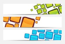 Free Abstract Website Banner Or Header Stock Photography - 20574492