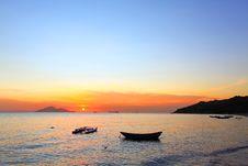 Free Sunset Along The Coast Stock Photo - 20574670