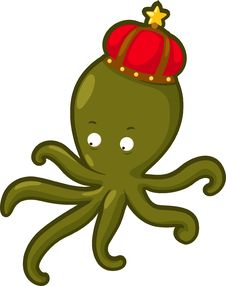 Free Illustration Squid Vector Royalty Free Stock Image - 20574676
