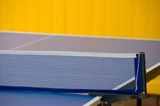 Free Ping-pong Table Royalty Free Stock Image - 20574756