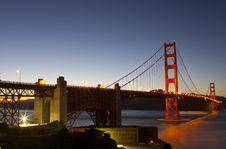 Free Golden Gate Bridge Full View Royalty Free Stock Photography - 20574797