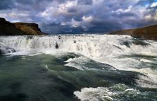 Free Cascade Of Gullfoss Royalty Free Stock Photography - 20574977
