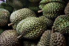 Free Durians In Thai Market Stock Images - 20575094