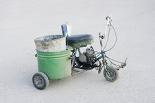 Free Scooter Homemade Royalty Free Stock Image - 20575576