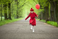 Free Little Red Riding Hood Stock Photo - 20575690