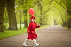 Free Little Red Riding Hood Royalty Free Stock Photos - 20575768