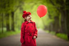 Free Little Red Riding Hood Stock Photos - 20575813