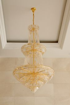 Free Glass Chandeliers Stock Photography - 20575892