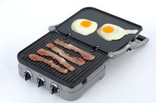 Breakfast - Eggs, Bacon Royalty Free Stock Images