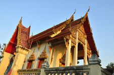 Free Thai Temple. Royalty Free Stock Photo - 20577245