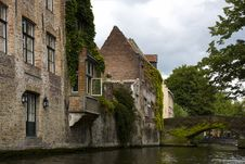 Free Architecture, Brugge, Belgium. Royalty Free Stock Images - 20577829