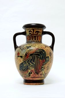 Free Greek Pottery Royalty Free Stock Image - 20578436
