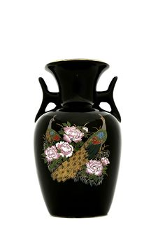 Free Black Porcelain Vase Stock Images - 20578504