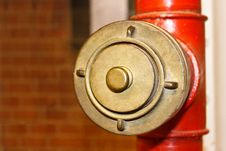 Cap For The Conduct Of Fire Hydrant Stock Photos