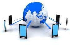 Free Global Network Stock Image - 20578981