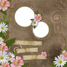 Free Card For Congratulation Or Invitation Stock Image - 20579131