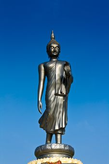Free Life Style Buddha Statue In Blue Sky Stock Photo - 20579730