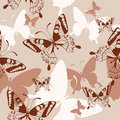 Free Background With Butterflies Stock Images - 20582674