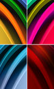 Free Multicolored Waves Abstract Background Stock Images - 20586044