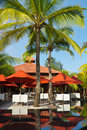 Free Restaurant At Tropical Resort Stock Photography - 20587682