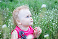 Free Baby On The Meadow Stock Images - 20588094
