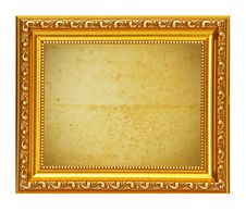 Free Gold Frame Stock Images - 20580184