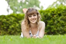 Free The Girl In Park Stock Photography - 20580422