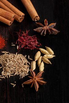 Free Mix Of The Spices Stock Photos - 20580713