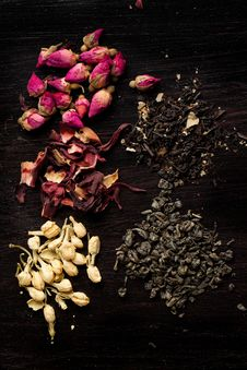 Free Dry Tea Variation Royalty Free Stock Image - 20580756