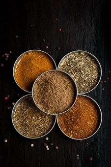 Free Mix Of The Spices Stock Images - 20580824