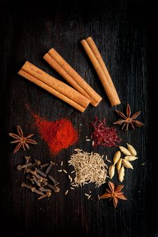 Free Mix Of The Spices Stock Photography - 20580842
