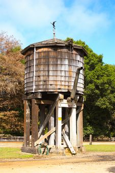 Free Old Water Tank Royalty Free Stock Photography - 20581827