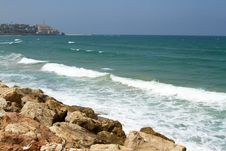 Free Sea Panorama Of Tel-Aviv, Israel Stock Images - 20581904