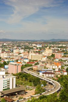 Free The Bird Eye View Of Pattaya City Stock Image - 20582501