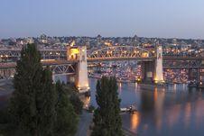 Free Burrard Bridge Stock Photography - 20582652