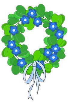 Free Green Beauty Chaplet - Vector Stock Photo - 20582740