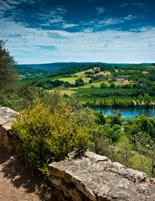 Free View Over The Valley Royalty Free Stock Image - 20583436