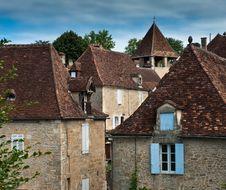 Free French Village Stock Image - 20583471