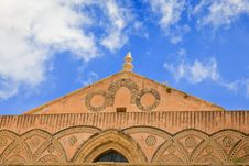 Free Frieze Of Ancient Medieval Duomo Di Monreale Stock Photography - 20584052