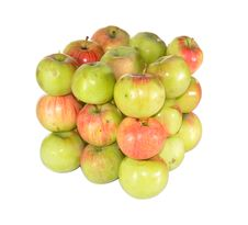 Mountain Of Apples Royalty Free Stock Photography
