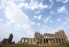 Whitby Abbey Castle England.UK Stock Photography