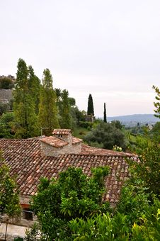 Free French Cottage In Saint-Paul-de-Vence Stock Photography - 20584792